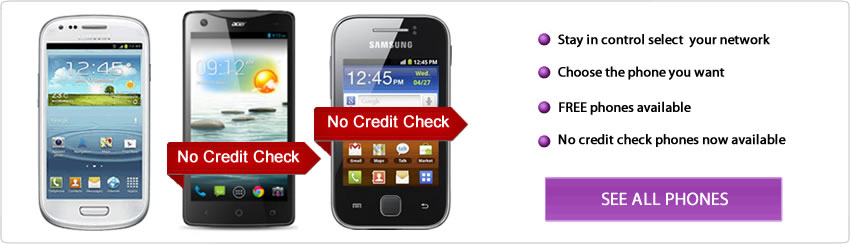 Contract Phones No Credit Check